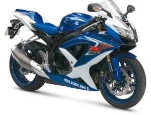 GSXR600 2008 2009 K8 K9