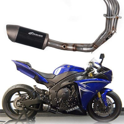 Graves Motorsports Yamaha R1 Full Stainless Steel Low Mount Exhaust System