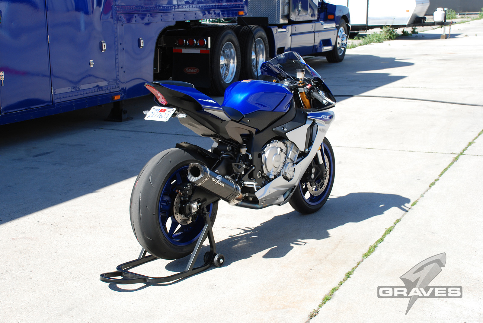 Graves Motorsports Yamaha R1 2015+ Fender Eliminator Tail TIdy