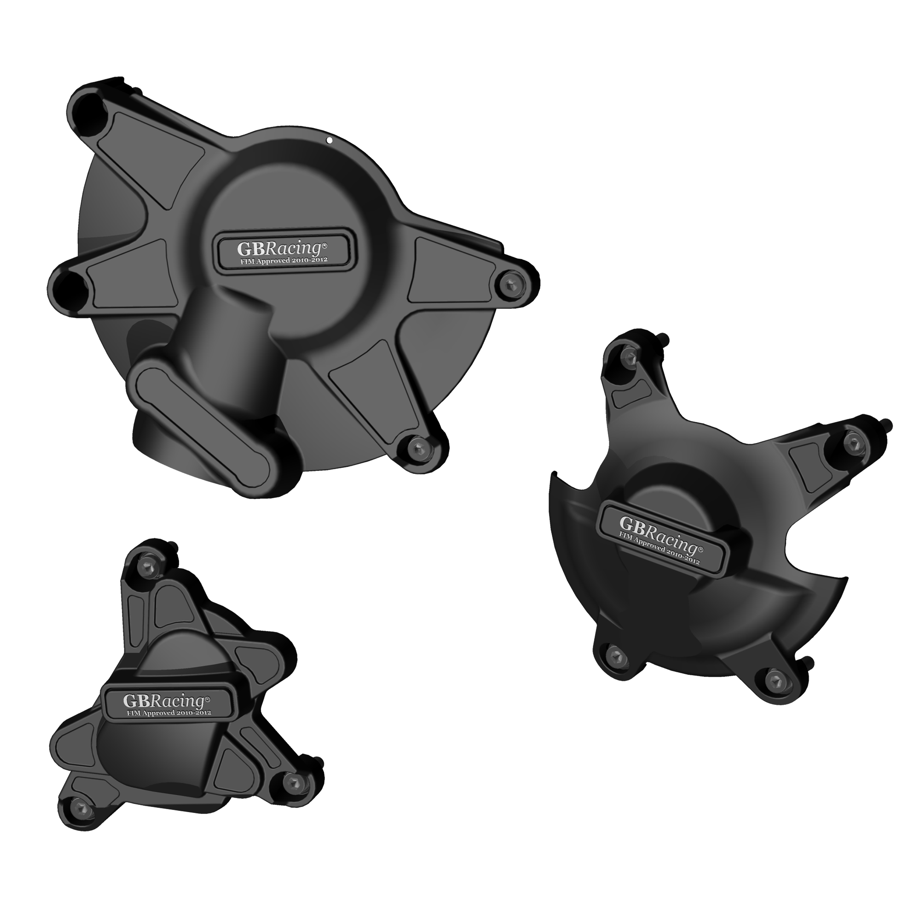 EC-R1-2009-SET-GBR YZF-R1 STOCK ENGINE COVER SET 2009 - 2014