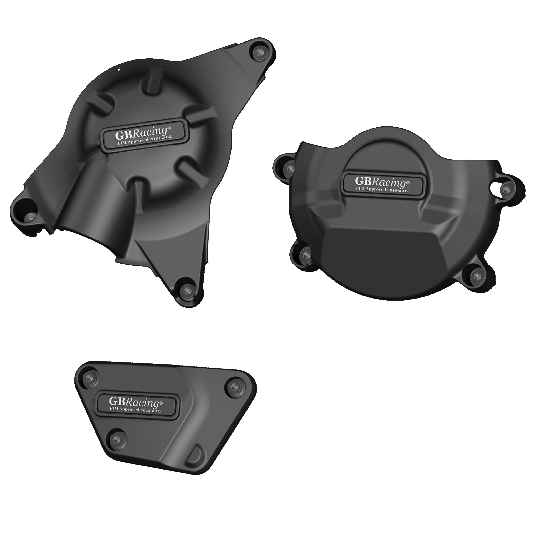 EC-R6-2008-SET-K-GBR YZF-R6 RACE KIT ENGINE COVER SET 2006 - 2016