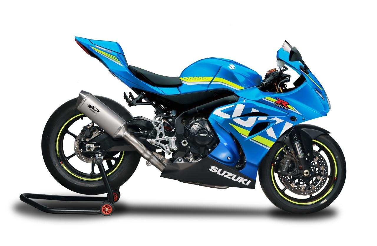 Spark Exhaust GSXR1000 2017+ GSU8804T FULL SYSTEM s.steel collector FORCE 102dB
