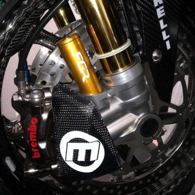 Carbon brake caliper cooling ductsc