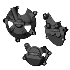ZX-10R STOCK Engine Cover Set 2008 - 2010 EC-ZX10-2008-SET-GBR