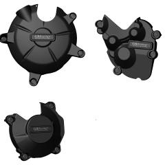 ZX-6R STOCK & KIT Engine Cover Set 2013 - 2019 EC-ZX6-2013-SET-GBR