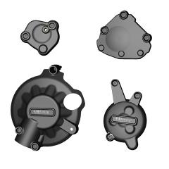 YZF-R1 Engine Cover Set  2007 - 2008 EC-R1-2007-SET-GBR