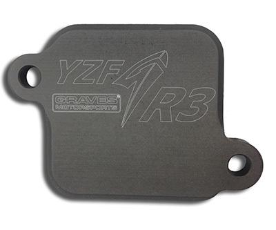 Graves AIS Smog block of plates Yamaha R3