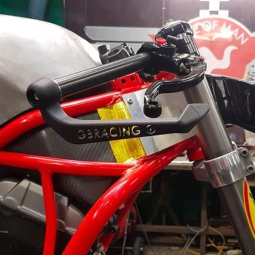 UNIVERSAL BRAKE LEVER GUARD WITH 16MM INSERT - 17MM BLG-16-A160-GBR 2