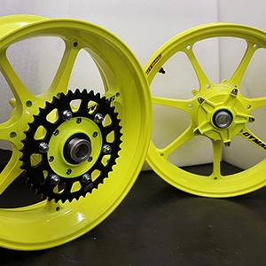 Dymag UP7X Flourescent Yellow